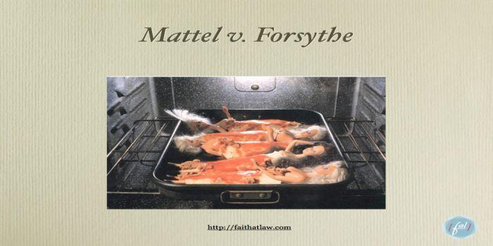 TF-008 Mattel-Forsythe