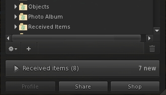 Kokua can now display Received Items as a regular inventory folder, allow the pull-up option is also still displayed