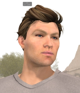 Ebbe Altberg used one of the upcoming new starter avatars at the VWBPE conference in April (image: Strawberry Singh)