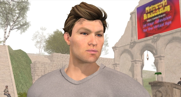 Ebbe Linden sports one of the new starter avatars to be launched shortly by the Lab