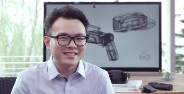 Qin Zheng, ANTVR Technology's founder