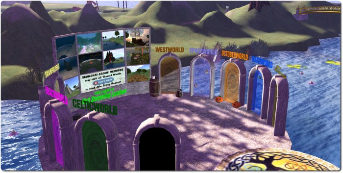 The Seanchai Library teleport portals, Kitely