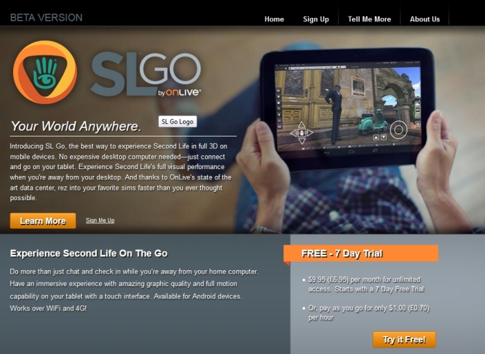 SL Go now features a 7-day free trial period for subscribers