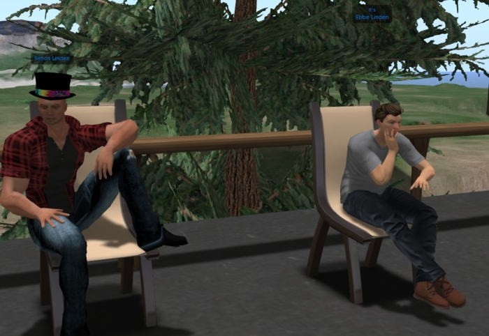 Ebbe Linden drops in on the Simulator User Group meeting