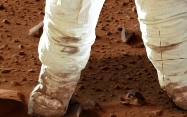 VR and vw technologies might even allow those on Earth share in the experience of standing on Mars and exploring that world (image: Explore Mars)