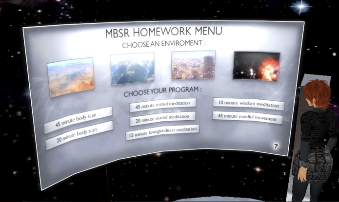 "Participant in both the physical and virtual studies receive ""homework"" assignments (via alltheseworldsllc.com)"