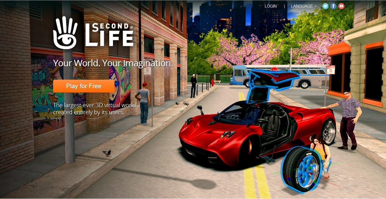 Linden Lab revamp the secondlife com home page – Inara Pey