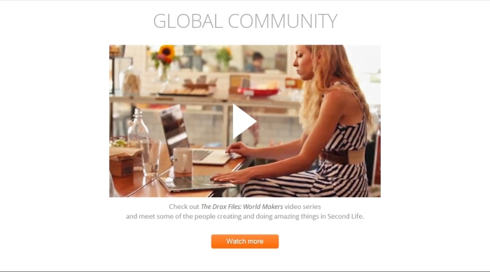 The Global Community section