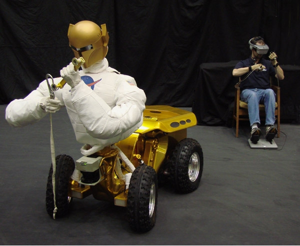 NASA's use of telepresence with robotic vehicles: