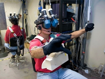 NASA VR training system provides the means for astronauts to rehearse activities and gain familiarity with techniques. Such systems could be used be crews en route to Mars