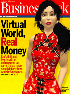 The famous Business Week magazine cover