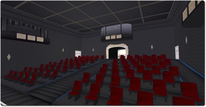 The interior of the Theatre