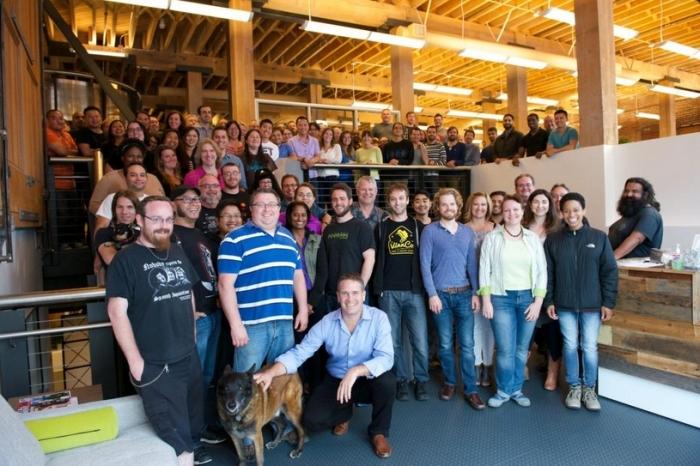 The Lab's Battery Street staff (image: Ebbe Altberg, via Twitter)