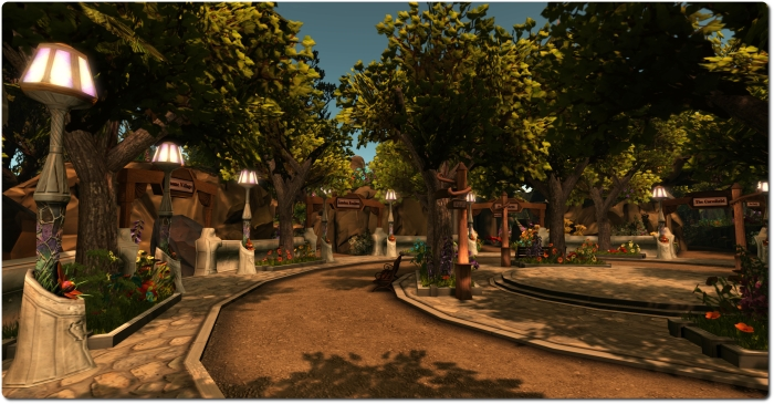 The Experience Keys Portal Park as seen using the Dolphin beta