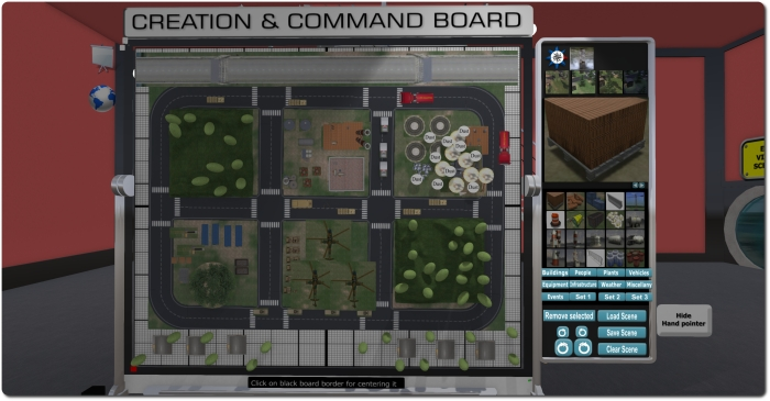 A closer look at the RezMela Creation and Control board