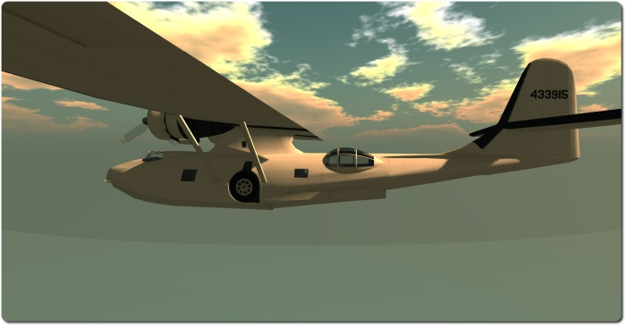 The Shana Carpool PBY6A: graceful and fun