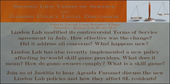 Terms of Service – Inara Pey: Living in a Modem World