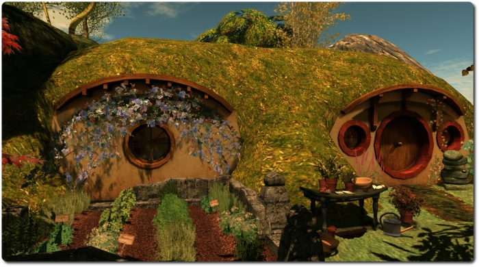 The Branwen Arts hobbit hole will host Bilbo Baggin's Birthday on behalf of Creatiosn for Parkinson's