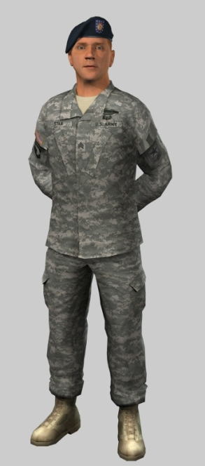 Sargeant Star - one of the ICT's virtual humans used to present the US military to the public