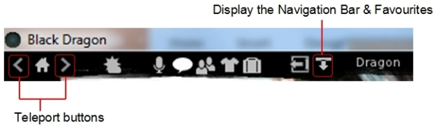 The new toolbar buttons in Black Dragon 2.4 Beta