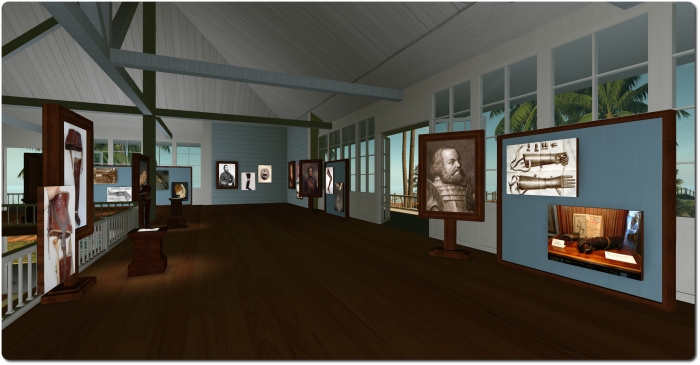 The museum in the upper floor of the VHA building