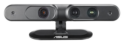 3D camera systems, HMDs, motions sensors, input devices, all are seen as a part and parcel of the options which will be available to users of next generation virtual worlds (image: Asus Xtion, via Asus UK)