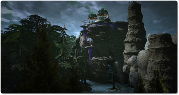 Darkwood, for a Calas Galadhon Halloween