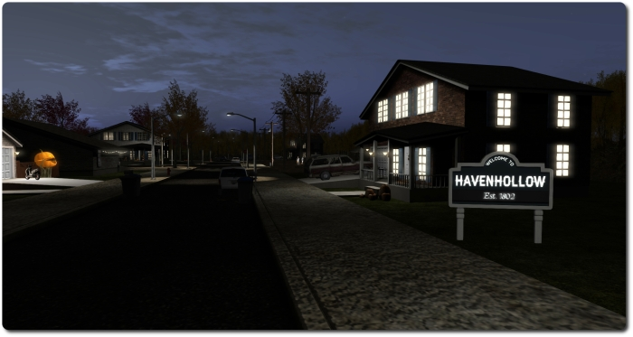 Havenhollow - a little trick or treating? Or perhaps something else?