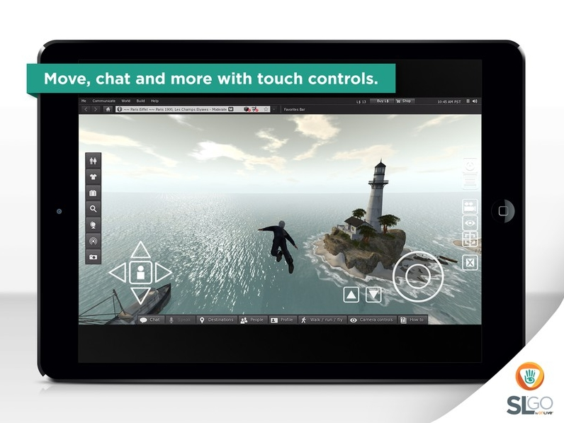 OnLive Brings Second Life to the iPad with SL Go for iOS