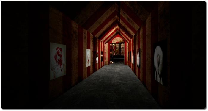 Nightmare Walkthrough:  in places like this, you just know the light at the end of the corridor is rarely good ...