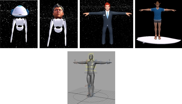 "The documentation resource includes a number of tutorials, including the basic creation of an avatar from the MyAvatar ""default"" (top); and also includes sections on standards, such as (bottom)"