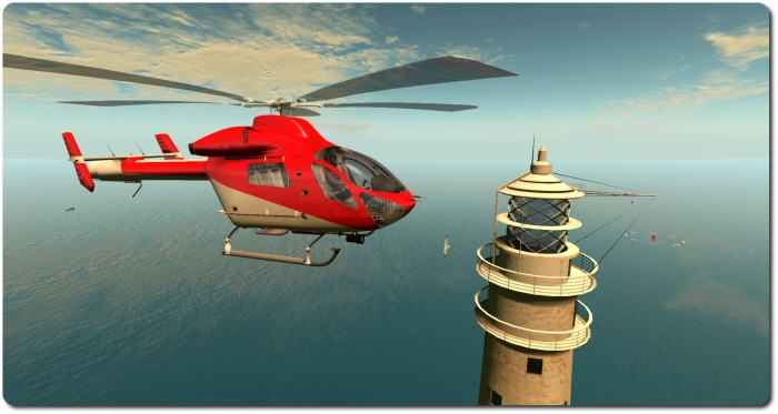 A familiar fly-past: taking the MD-900 around the Fastnet Rock lighthouse