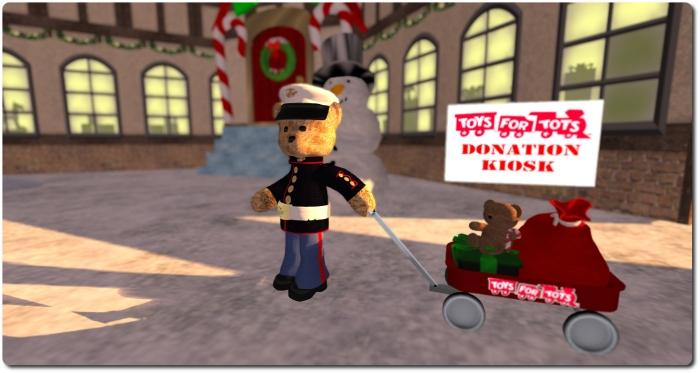 Get your copy of the Toys $ Tots 2014 seasonal CD from any of the official donation kiosks