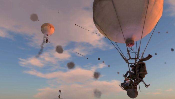 Take to the air with Loki Eliot's new Balloon Battles