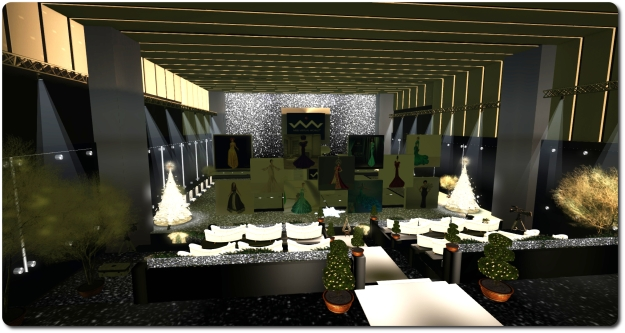 The Renaissance Galleria's sumptuous fashion show area will host the Miss Virtual World 2015 Gowns and Gift Card Auction in support of RFL of SL