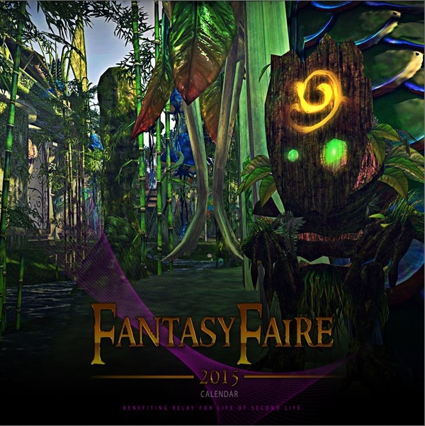 2015 Fantasy Faire calendar - yours to keep