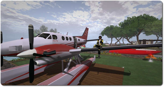 DSA Beechcraft King Air C90 GTX - this is a big turboprop
