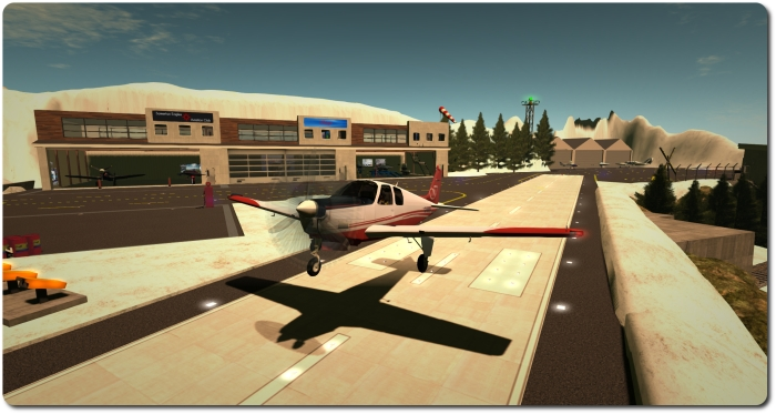 The Debonair is a delight to fly and the DSA scripting makes STOL flights a joy