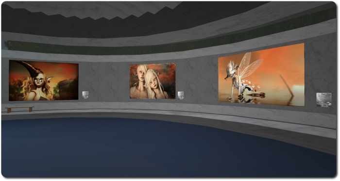 Kynne Llewellyn  - EOT Museum of Second Life Art