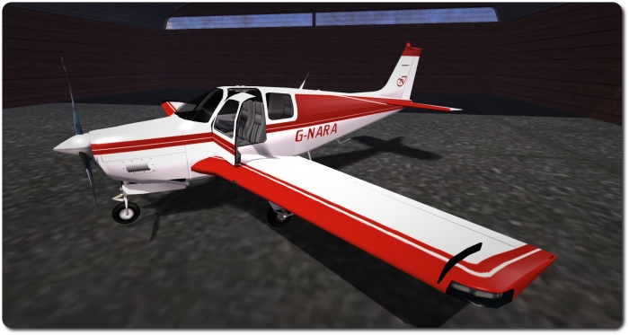 """My C33 """"G-NARA"""", created using the Vetron paint pack for N as a baseline"""