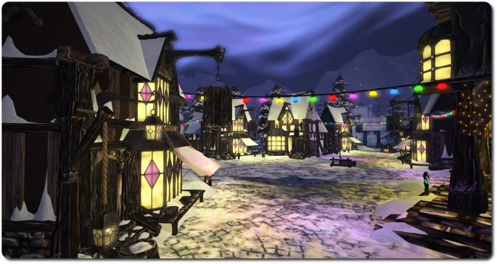 Winter Wonderland Village of Lights