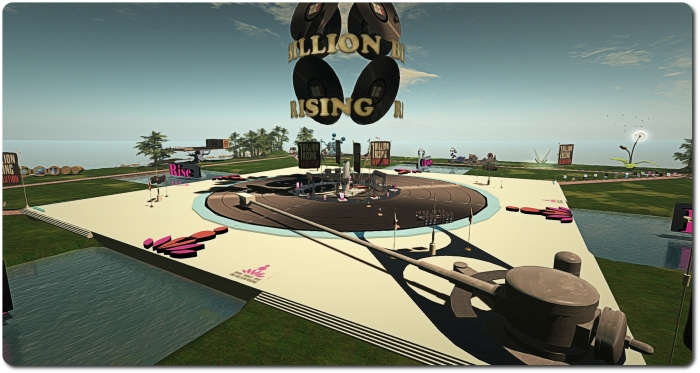 The main stage at OBR in SL 2015
