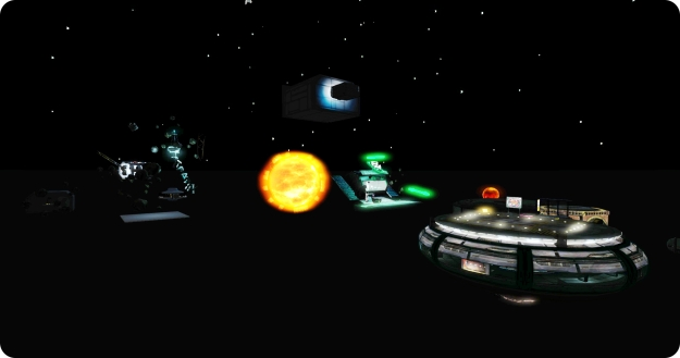 Space really is the final frontier for this year's SL Sci-Fi convention