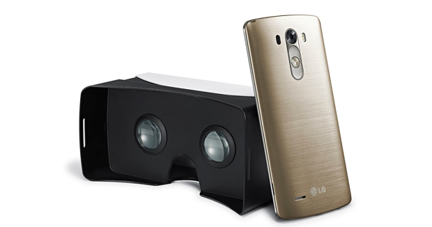 LG's VR for G3 uses Google Cardboard to bring VR to users of their G3 'phones