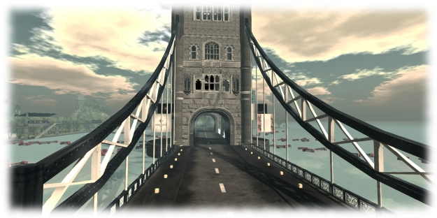 London, Fashion For Life - cross Tower Bridge as you make your way around the world, but don't miss the Gachas when you do! Region design by Rebeca Bashly