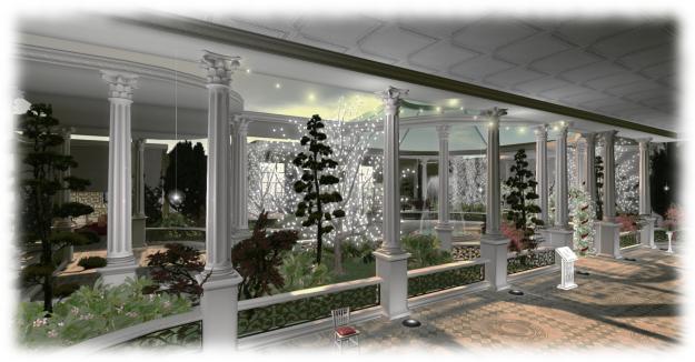 SS Galaxy - wedding reception area