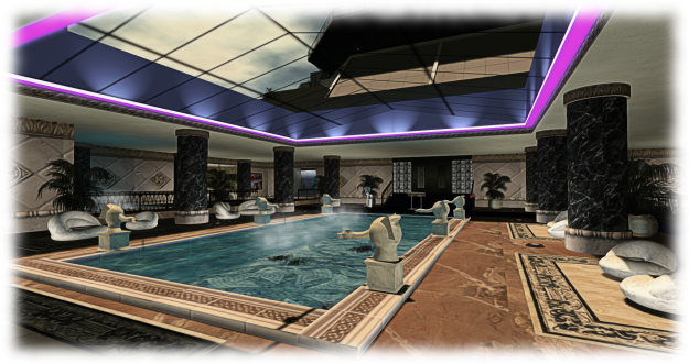 SS Galaxy - the spa pool