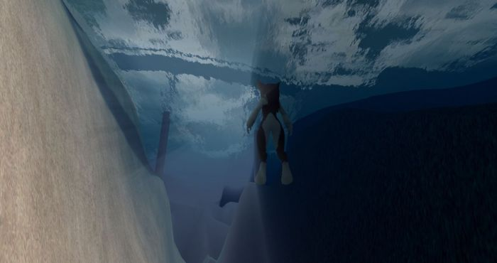 Niran also have Godrays working underwater as a result of his volumetric lighting work (image courtesy of NiranV Dean)