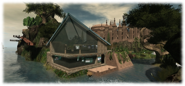 Seanchai Library's presence in Inworldz opens at 12:00 noon PDT on Saturday, March 28th, 2015 at the Community Library