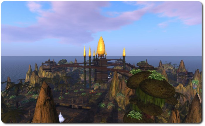 Svarga is one of the rare instances where an historic region in Second Life has been preserved, although doing so is not always easy when places are faced with closure due to the cost involved in maintaining them. The Lab hopes to address with with their new platform